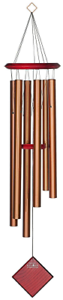 Woodstock Encore Collection Bronze Chimes of Earth Windchime  </span>