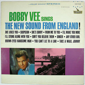 BOBBY-VEE-Sings-The-New-Sound-From-England-LP-1964-ROCK-VG-NM