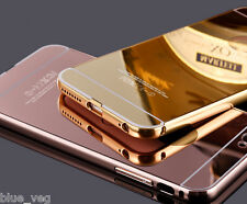 New Luxury Aluminum Ultra-thin Mirror Case Cover for iPhone 5 5s 6 6 Plus 7 8 X