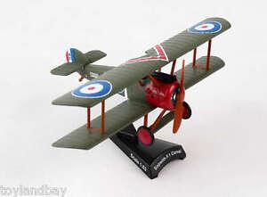Estampilla-PS5350-2-RAF-Sopwith-F-1-Camel-Diecast-Escala-1-63-Biplano