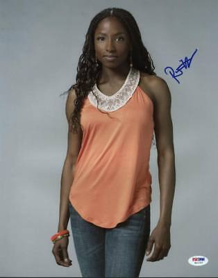 Movies Strict Rutina Wesley True Blood Signed Authentic 11x14 Photo Psa/dna #w11797 Cool In Summer And Warm In Winter