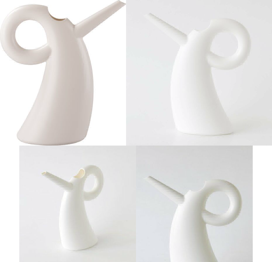 Alessi Diva Thermoplastic Resin Watering Can, White
