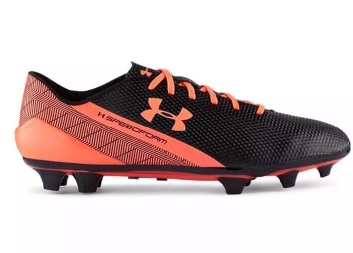 Under Armour Homme UA SpeedForm FG Soccer Cleats 1258593-002 New Sz 11.5