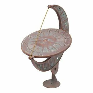 American-Crafted-Sun-and-Moon-Sundial-Copper-Verdigris
