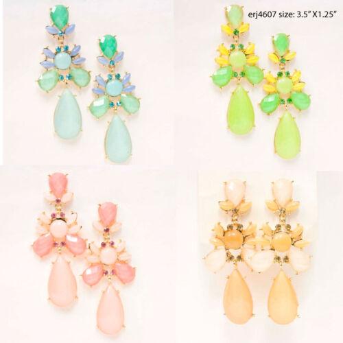 Vente en gros bijoux LOT 10 PAIRES CHANDELIER Drop Dangle Fashion Boucles d/'oreilles #1