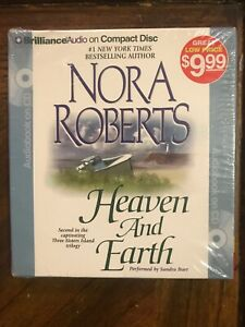 Nora-Roberts-Heaven-and-Earth-audiobook-Performed-By-Sandra-Burr