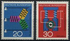 West Germany 1966 SG#1426-7 Scientific Anniversaries MNH Set  #D434
