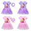 masha and bear Cartoon Girls Cosplay Costume Party Dress Skirts Fancy Dress UK