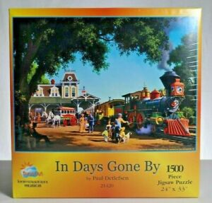 Sunsout-1500-piece-Puzzle-034-In-Days-Gone-By-034-NIB