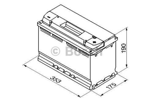 100Ah 38x20x18cm Batteriehülle Batterietasche Thermotasche Akkutasche