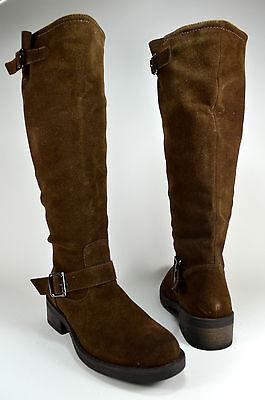 Damen Schuhe Stiefeletten Boots Stiefel Winterstiefel Gr.36-41 Coffee A.5-11