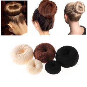 Girls Women Beauty Hair Tools Ring Magic Donut Shaper Accessories Bun Maker