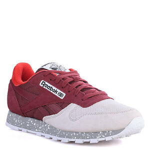 928ad66c898b MENS REEBOK CLASSIC LEATHER SM TRAINERS SUEDE NEW RETRO v67680 6 to ...