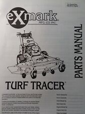 Exmark Turf Tracer Walk Behind Hydro Lawn Mower Parts Manual 60 52 Sn 190000up