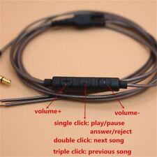 3.5mm DIY Earphone Audio Cable Headphone Wire Repair Replacement