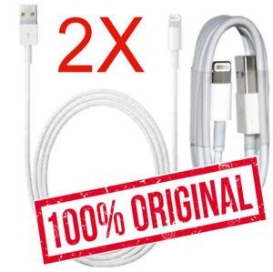 2x Original Weiß Lightning Ladekabel für iPhone 6 iPhone 5 iPhone 7 USB Kabel