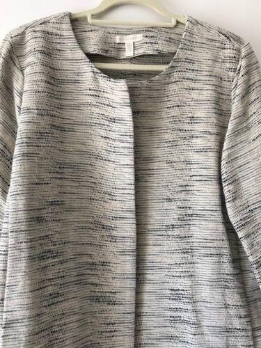 Ecru L Økologisk Cotton Sæson Coat 2017 Jacket sort Summer Smart Fisher Eileen f6xqa5Rf