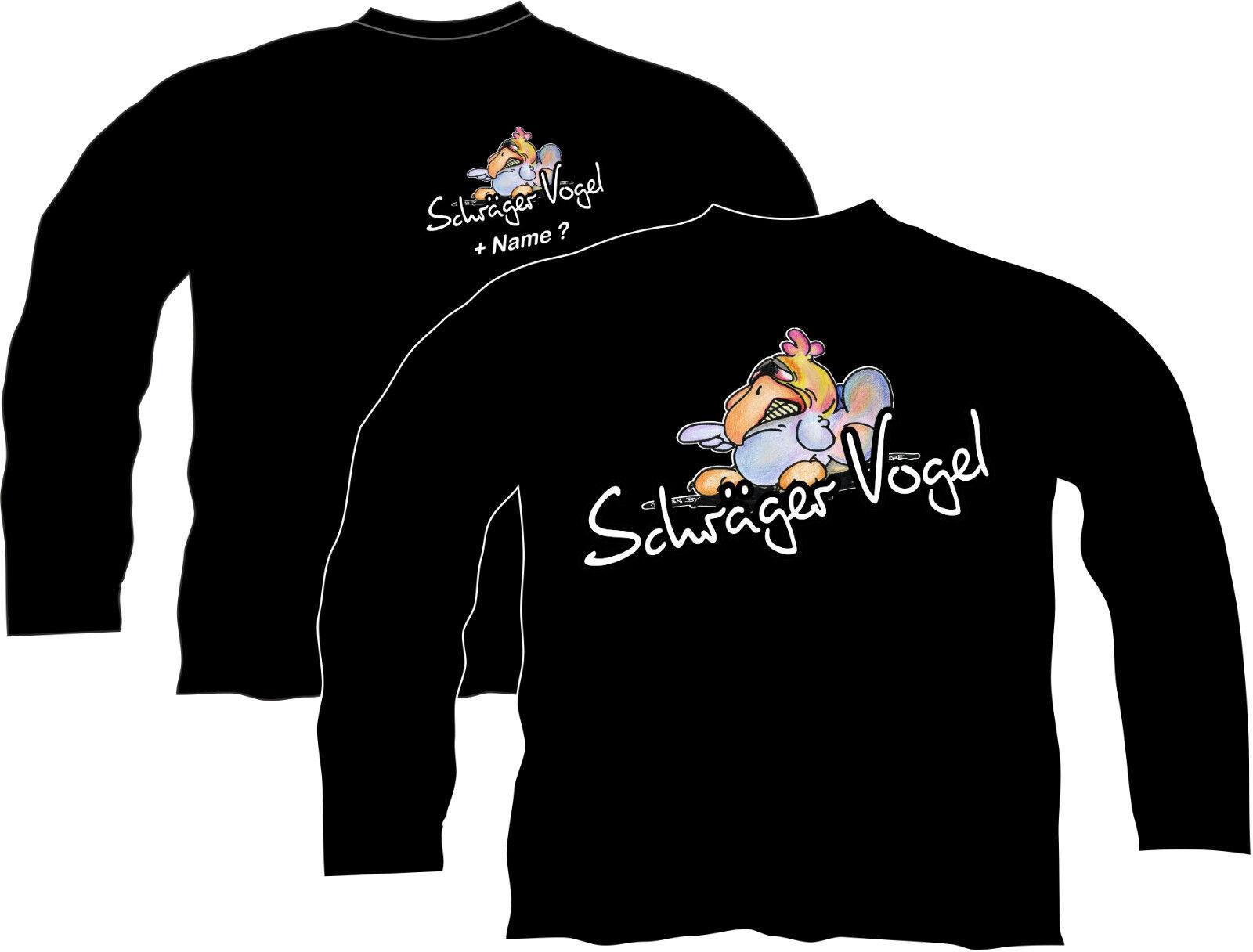 T-Shirt Schräger Schräger Schräger Vogel Kapuzensweatshirt Pullover Sweatshirt Funshirt Party 76 | Qualität und Quantität garantiert  | Hohe Qualität und Wirtschaftlichkeit  72669b