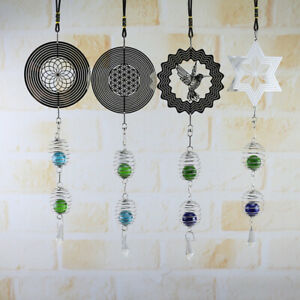 1X-Hanging-Wind-Chimes-Spinner-Crystal-Ball-Home-Yard-Garden-Decoration-Ornament