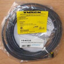 Turck Picofast 30vdc 4 Wire Female M8 Cordset Cable Pkw 4z P7x2 6s90 U0083