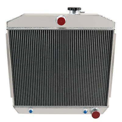 4Row Core Aluminum Radiator For 1955 1956 1957 Chevy Bel Air 55 56 57 new