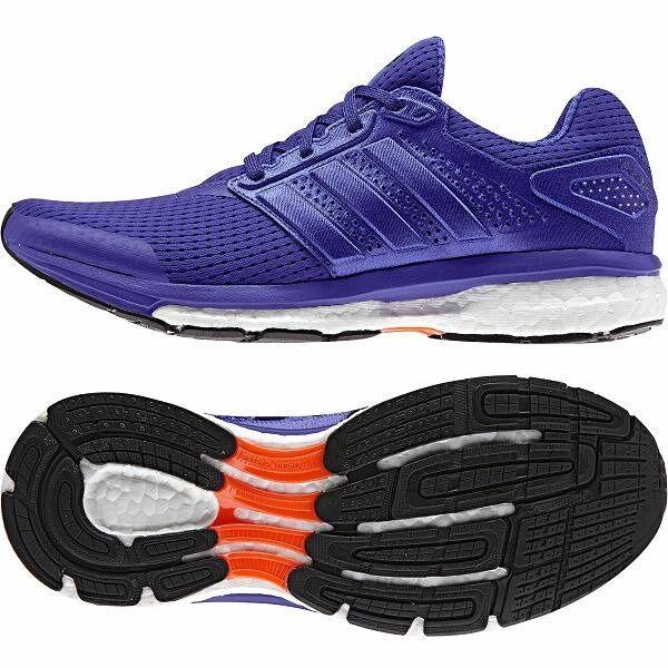 Supernova Glide 7 W RUNNING shoes Purple Adidas B40368 Women