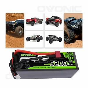 Ovonic-5200mAh-11-1V-3S-50C-Lipo-Battery-T-Plug-Hardcase-For-Traxxas-Losi-RC-Car