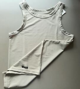 HOM-MENS-CASUAL-MALES-TANKTOP-LIGHT-BROWN-PICK-SIZE-S-or-M-FREE-SHIPPING-WD