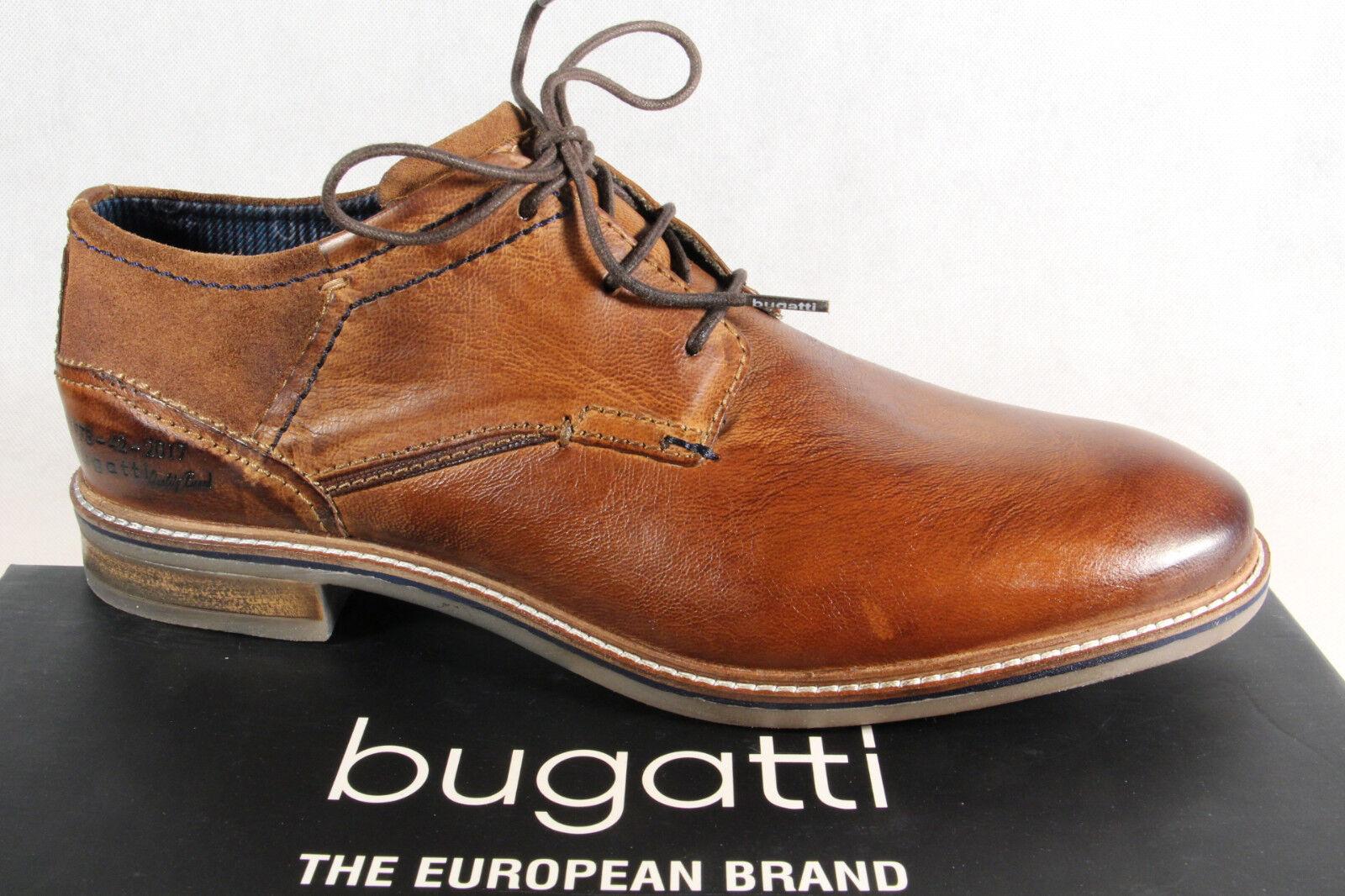 Bugatti braun Herren Schnürschuh Halbschuhe Sneaker braun Bugatti USED LOOK NEU!! 7cbecb