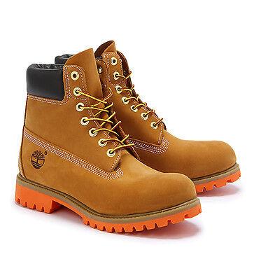 Timberland Men's Boot 6 Inch Premium 6326A Wheat Orange