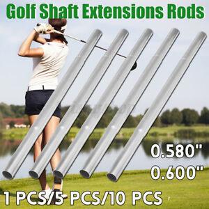 1/5/10Pcs Golf Schläger Schaft Verlängerung Stangen Verstellbar Eisen Extender
