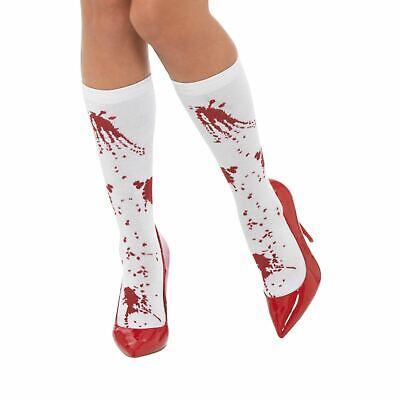 Originale Ladies Sangue Imbrattato Abbigliamento Calzini Piedi Piede Assassino Costume-mostra Il Titolo Originale Alta Qualità