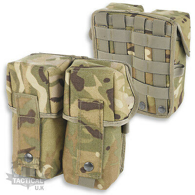 MTP MULTICAM MOLLE PARA DOUBLE AMMO POUCH BRITISH ARMY WEBBING OSPREY