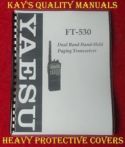 yaesu ft 530 instruction manual 32 lb paper c my other manuals rh ebay com