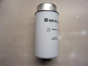 cnh new holland 87840590 fuel filter ebay new holland fuel filter image is loading cnh new holland 87840590 fuel filter