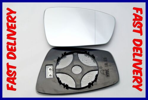 HEATED RIGHT SKODA  RAPID  2012-2017 DOOR MIRROR GLASS  ELECTRIC