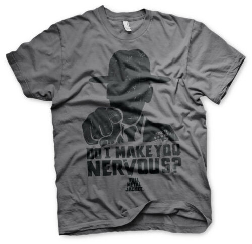 Do I Make You Nervous Men/'s T-Shirt S-XXL Officially Licensed Full Metal Jacket