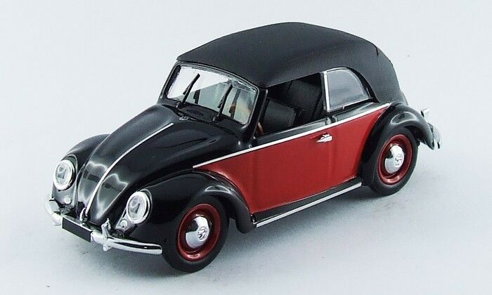 Rio 4420 Volkswagen VW KarFemmen noir / rouge 1949      1/43 | Qualité Et Quantité Assurée  97c673
