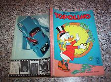 TOPOLINO LIBRETTO N.602 ORIGINALE MONDADORI DISNEY del 1967 CON BOLLINO