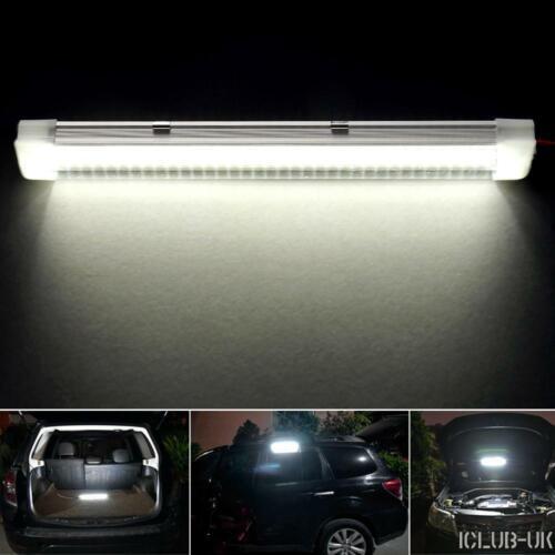 72 LED Interior Lights Strip Bar Car Van Bus Caravan ON//OFF Switch 12V 12 VOLT