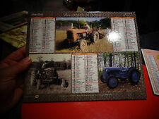 Post Calender 2011 Ancien Tracteur Someca Renault Juvaquatre Citroen HY Déco Bar