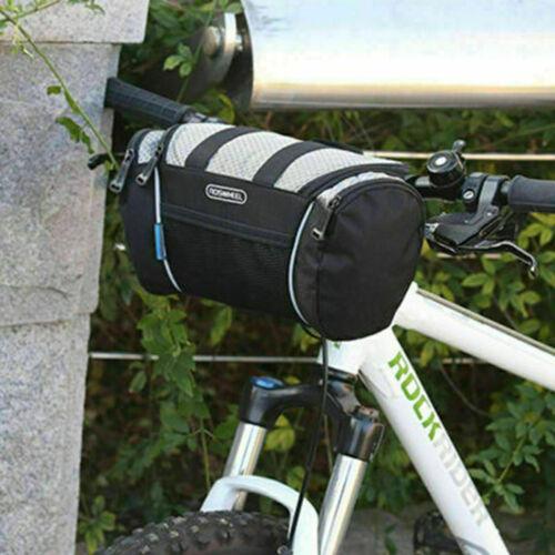5L Bike Front Pocket Basket Cycling Handlebar Bag Bicycle Pannier Shoulder Pack