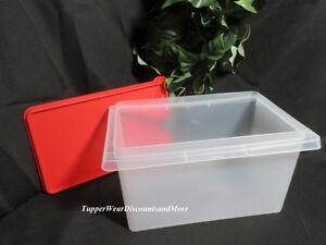 Tupperware NEW Sheer Craft Supplies Organize it All Storage
