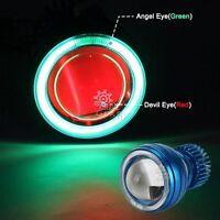 Halo Angel Red Demon Eye Headlight For Honda Cb 250 450 650 700 750 Nighthawk