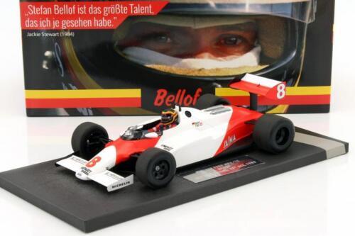 Stefan Bellof McLaren Ford mp4//1c #8 test Silverstone GP f1 1983 1:18 Minichamps