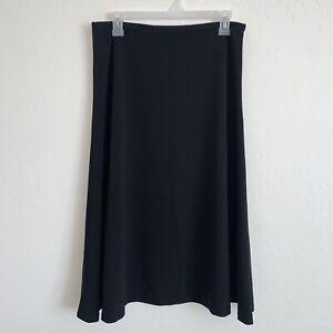 Calvin Klein Womens Suit Black A Line Skirt Size 6 N98