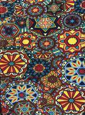 Lularoe OS Leggings Floral Kaleidoscope Medallion Circles NEW UNICORN - Vintage