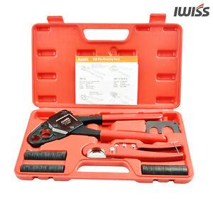 IWISS-1-2-amp-3-4-Copper-Ring-Pex-Pipe-Crimping-Tool-F1807-Plumbing-Tool