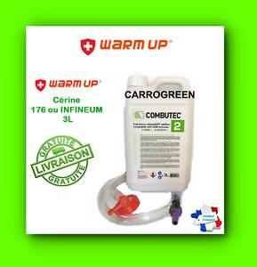 WARM UP COMBUTEC 2 3 Litres Additif FAP Cérine 176 ou Infine 7995 Vert kit de Remplissage (CBT2-3)