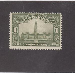 CANADA (MK4302) # 159 F-MNH  $1 1929 PARLIAMENT BUILDING /OLI-GRN CAT VALUE $500